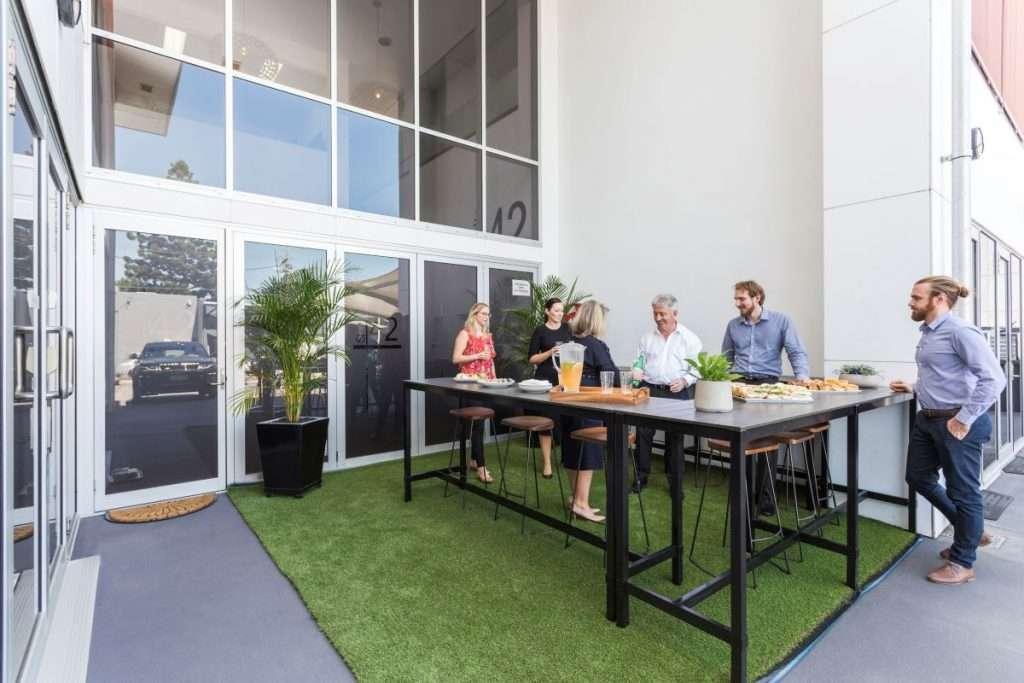 Studio 42 Workspaces Outdoor Area