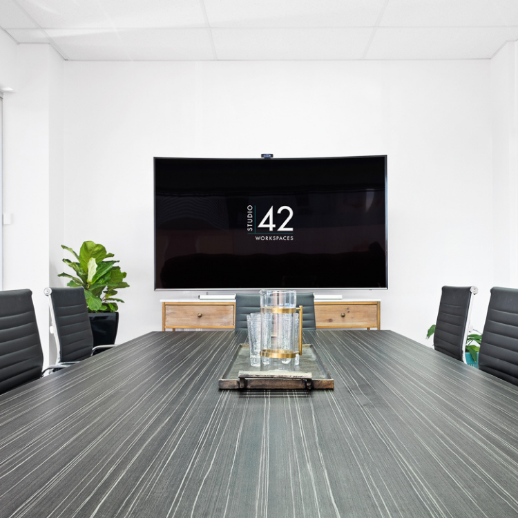 Lisburn Boardroom Meeting Hire Studio 42 Workspaces East Brisbane