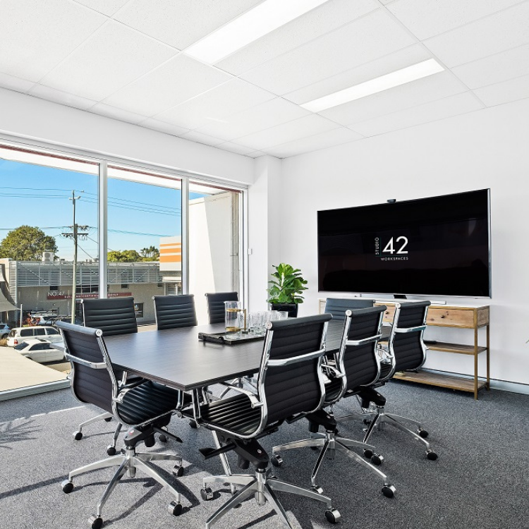 Large Boardroom in East Brisbane Studio 42 Workspaces